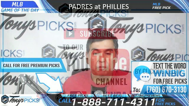 San Diego Padres vs Philadelphia Phillies 8/17/2019 Picks Predictions Previews