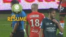 FC Lorient - FC Sochaux-Montbéliard (1-0)  - Résumé - (FCL-FCSM) / 2019-20