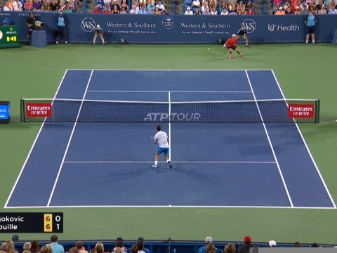 Cincinnati - Pouille sorti par Djokovic en quarts