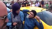 Taksim Meydanı'nda Taksiciyle İsrailli Kadın Turist Arasında Arbede