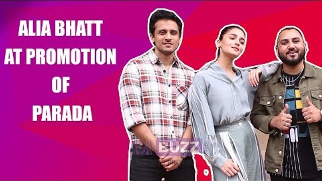 Alia Bhatt slays the casuals look at Parada promotion