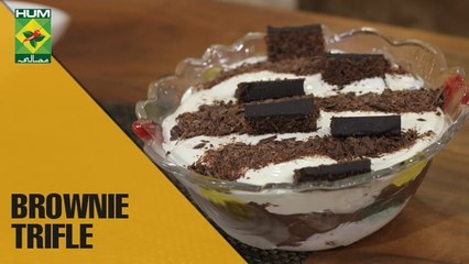 Deliciously Easy Brownie trifle| Food Diaries | Masala TV Show | Zarnak Sidhwa