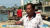 Climat : en Indonésie, Jakarta est menacée par les eaux