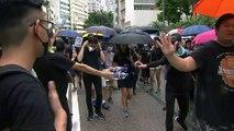 """""""홍콩 해방...자유를 위해 싸우자"""" / YTN"""