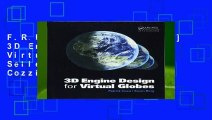 F.R.E.E [D.O.W.N.L.O.A.D] 3D Engine Design for Virtual Globes Best Sellers by Patrick Cozzi