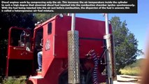 BIG DIESEL ENGINES COLD START-UP AND SOUND