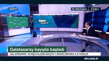 % 100 Futbol Denizlispor - Galatasaray 16 Ağustos 2019