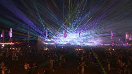Le record du monde du concert avec le plus de lasers a été battu en Belgique
