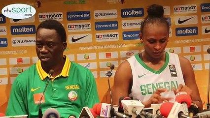 Afrobasket 2019 : Conférence de Presse de cheikh sarr entraîneur des lionnes apres la victoire sur le Mozambique