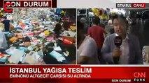 Cnn Türk muhabirinin canlı yayında zor anları