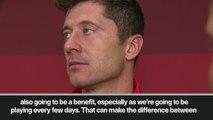 (Subtitled) 'He is a great player' – Lewandowski praises Coutinho