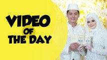 Video of The Day: Cut Meyriska-Roger Danuarta Sah Menikah, Tingkah Gemas Jan Ethes saat Upacara