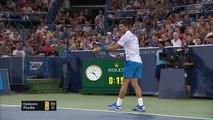 ATP Cincinnati: Djokovic bt Pouille (7-6 6-1)