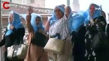 Sağanak ve fırtına Bursa'yı da vurdu... Yağmurdan böyle korundular