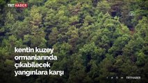 Ormanlar 24 saat havadan ve karadan gözlem altında