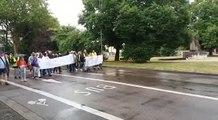 Chants manifestation Steve à Troyes
