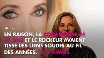 """Johnny Hallyday """"immortel"""" pour Mathilde Seigner, elle n'accepte pas sa mort"""