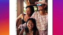 Laeticia Hallyday : très heureuse, elle pose avec ses filles pour une magnifique photo