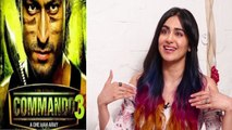 Adah Sharma talks about her upcoming film Commando 3,Watch video | FilmiBeat