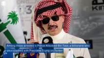 Saudi elites detained in Ritz Carlton after arrests on corruption charges