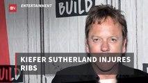 Kiefer Sutherland Is Injured