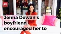 Jenna Dewan And Public Transport
