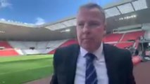 Kenny Jackett speaks after defeat away to Sunderland