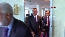 DHA DIŞ-Çavuşoğlu, Libya Dışişleri Bakanı Tahir Siyala ile görüştü