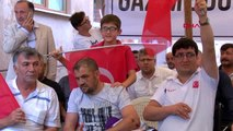 BURSA Ankara'dan bir grup gazi, Bursa'da darp edilen Gazi Karaman'ı ziyarete geldi