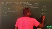 AAN Triangle et parallèles Démontrer qu'un parallélogramme est un rectangle