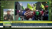 Conexión Global: Exigen al gob. de Argentina aumentar el salario