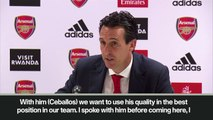 (Subtitled) 'He started at no.10 and finished at No.8'  Emery on Dani Ceballos