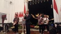 Undang RAN Hibur Anggota Paskibraka dan Gita Bahana, Jokowi: Terima Kasih