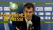 Conférence de presse SM Caen - FC Chambly (0-0) : Rui ALMEIDA (SMC) - Bruno LUZI (FCCO) - 2019/2020