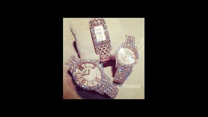 Expensive Luxury Gold Diamond Watches Designs For Women's And Ladies Royal Fashion Trend_2