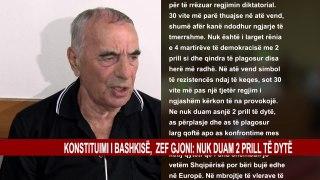 KONSTITUIMI I BASHKISË, ZEF GJONI: NUK DUAM 2 PRILL TË DYTË