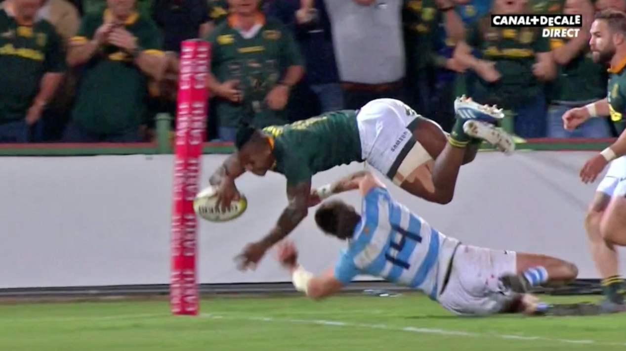 L'incroyable essai personnel de S'busiso Nkosi face aux Pumas