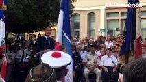 A Bormes-les-Mimosas, Macron se pose en rassembleur