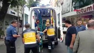 Bursa İnegöl Otomobil ile çarpışan motosikletin sürücüsü yaralandı