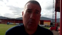 Banbury United boss Mike Ford post-match v Royston