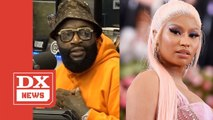 """Rick Ross Responds To Nicki Minaj's """"Sit Your Fat Behind Down"""" Comment"""