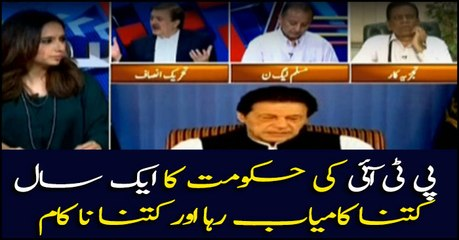 Analysis of PTI led government after completing one year