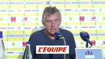 Gourcuff «Aucun entraîneur n'est sûr de son effectif avant le 31 août» - Foot - L1 - Nantes