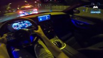 NEW! Mercedes AMG C Class C43 NIGHT DRIVE POV Ambient Lighting by AutoTopNL