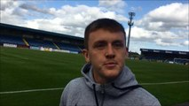 VIDEO: James Singleton on Glenavon's first win of the season and first clean sheet