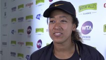 Naomi Osaka Nursing Knee Injury Days Before US Open