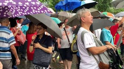 Hong Kong : les partisans de Pékin se mobilisent