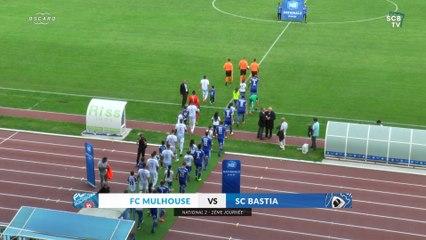 Mulhouse 1-2 Bastia : Le résumé