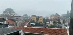هطول أمطار غزيرة على العاصمة التركية اسطنبول