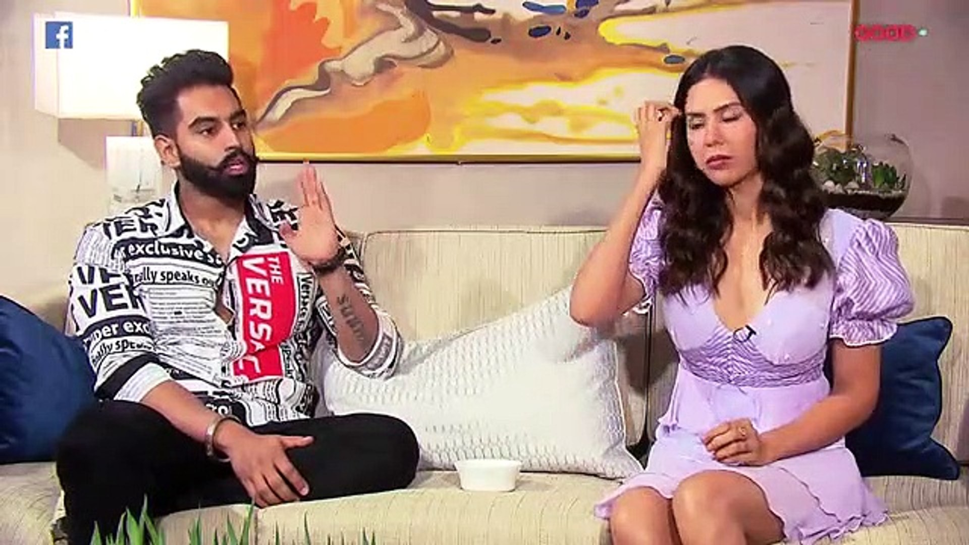 Singham Punjabi movie promotion _ Funniest Interview Of Parmish Verma & Sonam Bajwa _ The Punjab